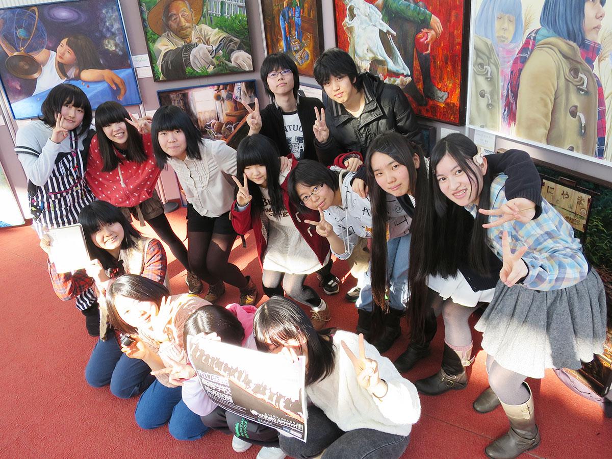 市立函館高校美術部ブログ「ichihako-art」